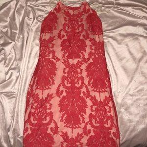 Red lace Tobi Dress